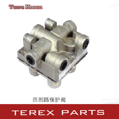 Terex Four circuit protection valve 15041313