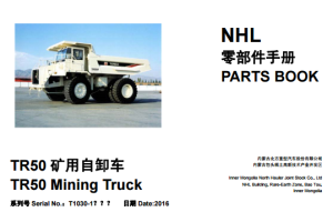 TEREX NHL TR50 Parts Manual